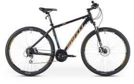 """Велосипед горный Spelli SX-5500 29ER 2016 черно-оранжевый матовый - 19"""""""