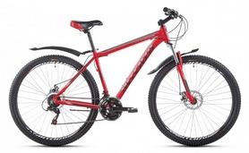 """Велосипед горный Intenzo Flagman 29"""" красно-черный матовый рама 21"""""""