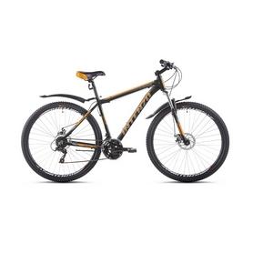 """Велосипед горный Intenzo Flagman 29"""" серо-оранжевый матовый рама 21"""""""