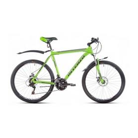 """Велосипед горный Intenzo Flagman 26"""" зелено-черный матовый рама 21"""""""
