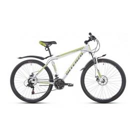 """Велосипед горный Intenzo Premier 26"""" бело-зеленый рама 15"""""""