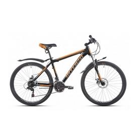 """Велосипед горный Intenzo Premier 26"""" оранжево-черный матовый рама 15"""""""