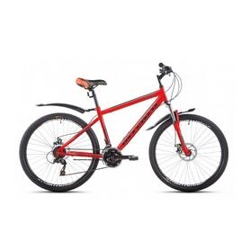"""Велосипед горный Intenzo Forsage 26"""" красно-черный матовый рама 17"""""""
