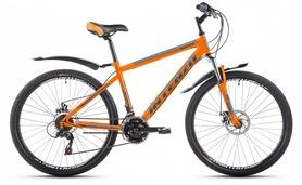 """Велосипед горный Intenzo Master 26"""" оранжевый матовый рама 17"""""""