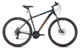 Фото 1 к товару Велосипед горный Spelli SX-3500 29ER 2016 черно-оранжевый матовый - 21