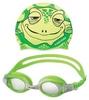 Набор для плавания Head Meteor Character (очки + шапочка) зеленый - фото 1