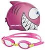 Набор для плавания Head Meteor Character (очки + шапочка) розовый - фото 1