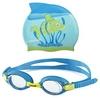 Набор для плавания Head Meteor Character (очки + шапочка) сине-зеленый - фото 1
