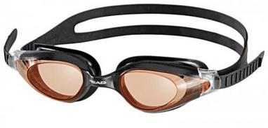 Очки для плавания Head Cyclone черно-оранжевые