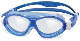 Очки для плавания со стандартным покрытием Head Monster Junior+ сине-белые