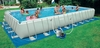 Бассейн каркасный Intex Ultra Frame 54990/28372 (975х488х132 см) с фильтрующим насосом и лестницей - фото 2