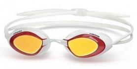Очки для плавания с зеркальным покрытием Head Stealth LSR+ бело-красные