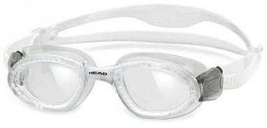 Очки для плавания со стандартным покрытием Head SuperFlex+ прозрачные