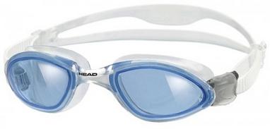 Очки для плавания со стандартным покрытиемя Head Tiger LSR+ прозрачно-cиние
