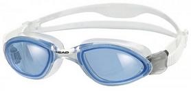 Фото 1 к товару Очки для плавания со стандартным покрытиемя Head Tiger LSR+ прозрачно-cиние