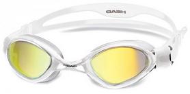 Очки для плавания с зеркальным покрытием Head Tiger LSR+ белые