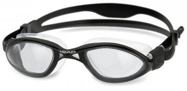 Очки для плавания со стандартным покрытием Head Tiger LSR+ черные