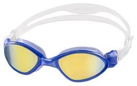 Очки для плавания с зеркальным покрытием Head Tiger Mid синие