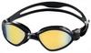 Очки для плавания с зеркальным покрытием Head Tiger Mid черно-дымчатые - фото 1