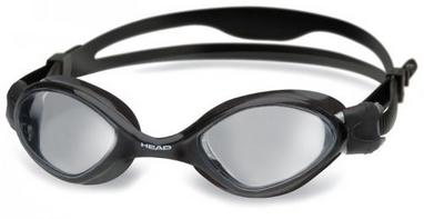 Очки для плавания Head Tiger Mid LSR дымчатые