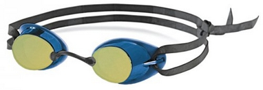 Очки для плавания с зеркальным покрытием Head Ultimate LSR+ синие
