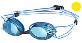 Фото 1 к товару Очки для плавания Head Venom сине-желтые