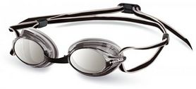 Фото 1 к товару Очки для плавания с зеркальным покрытием Head Venom серые