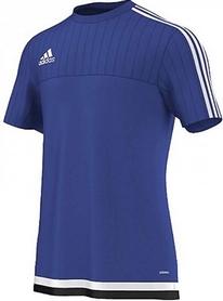 Фото 1 к товару Футболка Adidas Tiro15 TRG JS S22307 синяя