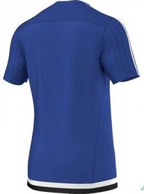Фото 2 к товару Футболка Adidas Tiro15 TRG JS S22307 синяя