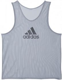 Накидка (манишка) тренировочная Adidas TRG BIB 14 D84856 серая