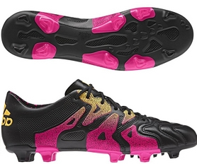 Бутсы футбольные Adidas X 15.1 FG/AG Leather AQ5791