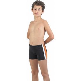 Плавки-шорты детские Head Double Spice черно-оранжевые