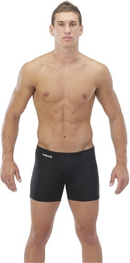 Плавки-шорты мужские Head Solid - Lycra 27 см черные