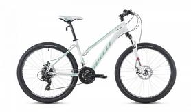 """Велосипед кросс-кантри женский Spelli SX-3000 Lady 26"""" 2016 белый матовый - 16"""""""