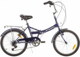 """Велосипед складной Stern Travel Multi 20"""" 2016 синий"""