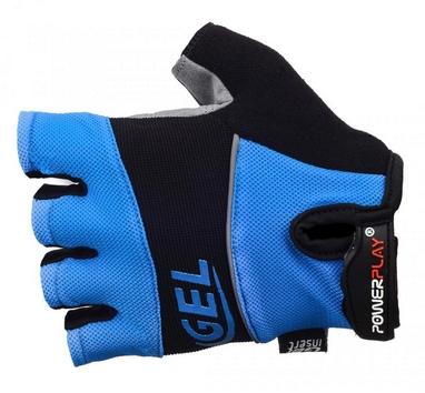 Перчатки велосипедные PowerPlay 1058 blue