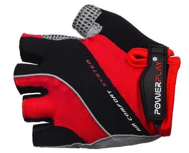 Перчатки велосипедные PowerPlay 5023 MEN red