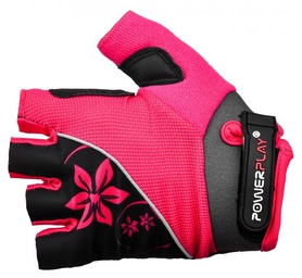 Фото 1 к товару Перчатки велосипедные PowerPlay 5281 женские