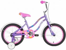 """Велосипед детский Stern Fantasy 2016 - 16"""", фиолетово-розовый (16FANT16)"""