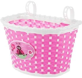 Корзина велосипедная детская Cyclotech Bicycle basket CBBK-1PN pink