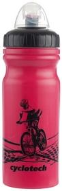 Фото 1 к товару  Фляга велосипедная Cyclotech Water bottle CBOT-1P pink