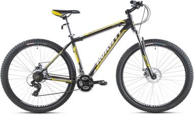 Велосипед горный Avanti Galant 650B 2016 черно-желтый матовый - 21