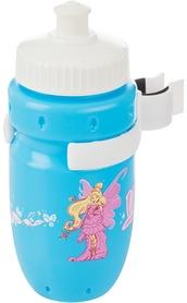 Фото 1 к товару Фляга велосипедная детская с держателем Cyclotech Water bottle with holder CBS-1BN blue