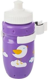 Фляга велосипедная детская с держателем Cyclotech Water bottle with holder CBS-1VIN violet