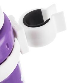 Фото 3 к товару Фляга велосипедная детская с держателем Cyclotech Water bottle with holder CBS-1VIN violet