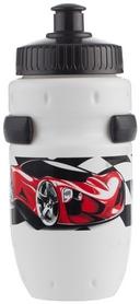 Фото 1 к товару Фляга велосипедная детская с держателем Cyclotech Water bottle with holder CBS-1W white