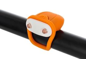 Фонарь габаритный передний Cyclotech Bicycle front light CFL-4OR orange