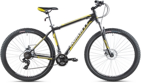 Фото 1 к товару Велосипед горный Avanti Galant 29ER 2016 черно-желтый матовый - 21