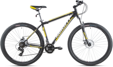 Велосипед горный Avanti Galant 29ER 2016 черно-желтый матовый - 21