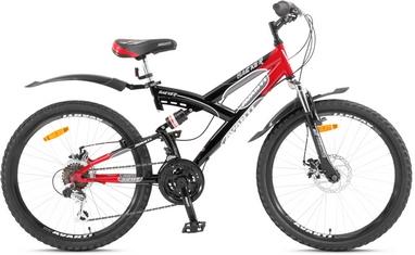 Велосипед подростковый горный Avanti Hacker Disc 2016 красный - 24